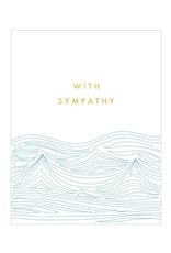 "PPS - Card/Sympathy Waves, 4.5 x 6"""