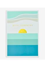 """PPS - Card/With Sympathy, 4.75 x 6.75"""""""