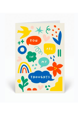 """PPS - Card / You Are In My Thoughts, 4 x 6"""""""