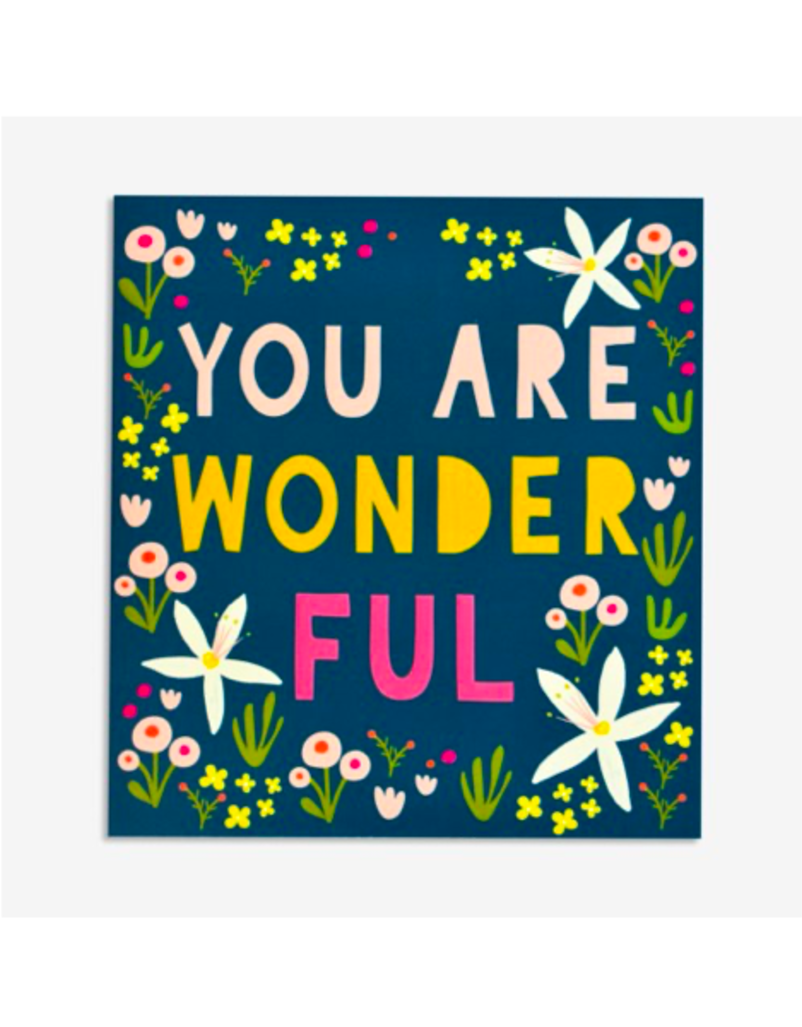 PPS - Card/You Are Wonderful, 5.5 x 6""