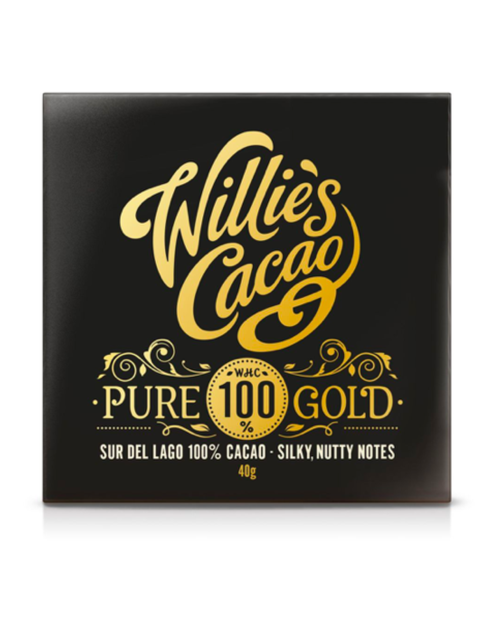 DLE - Willie's Cacao/Pure 100% Gold Bar, 40g