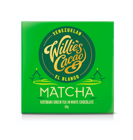 DLE - Willie's Cacao/Matcha Bar 50g