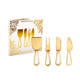 DCO - Cheese Knives/Set 4, Gold