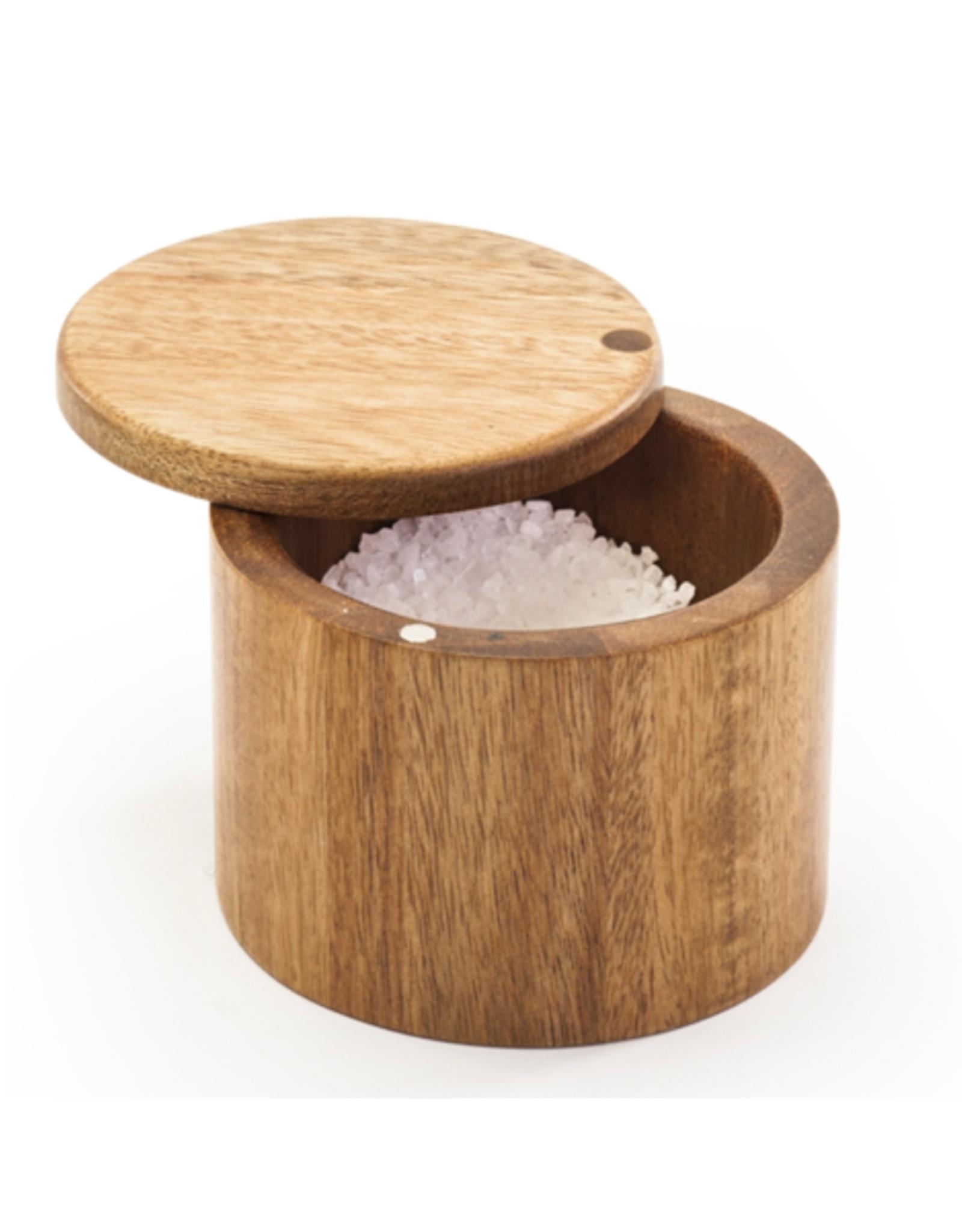 """DCO - Swivel Salt Keeper/Acacia Wood, 3.5"""""""