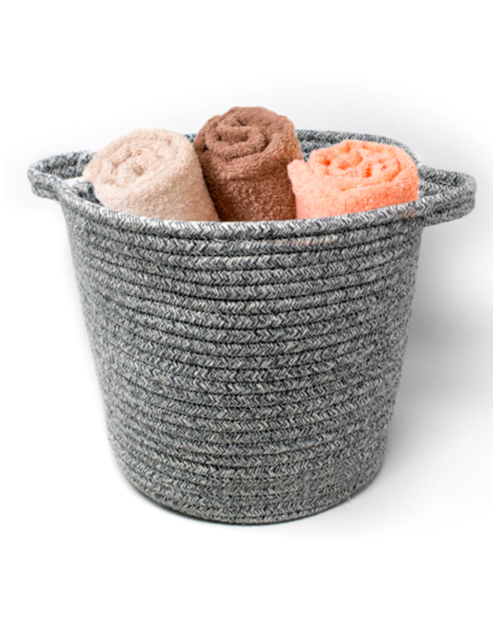"DCO - Fjord Cotton Basket/Grey, 10"""