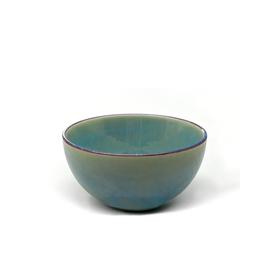 """DCO - Bowl / Reactive Glaze, Green, 5.5"""""""