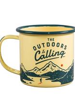 WLD - Enamel Mug/Outdoors, 11oz