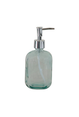 """COP - Soap Dispenser / Recycled Glass, 7"""""""