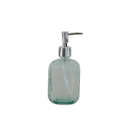 COP - Soap Dispenser/Recycled Glass, 7""