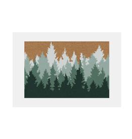 """NIA - Doormat/Woodlands, 15 x 24"""""""