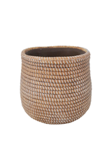 """NIA - Plant Pot/Ceramic Rope, 5"""""""