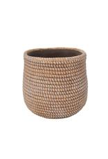 NIA - Plant Pot / Ceramic Rope, 3.5''