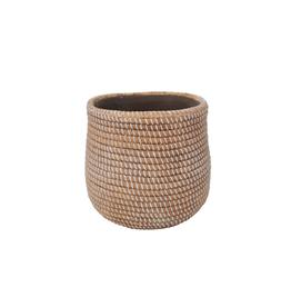 NIA - Plant Pot/Ceramic Rope, 3.5''
