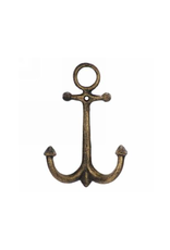 """AES - Double Wall Hook/Anchor, Gold, 7"""""""