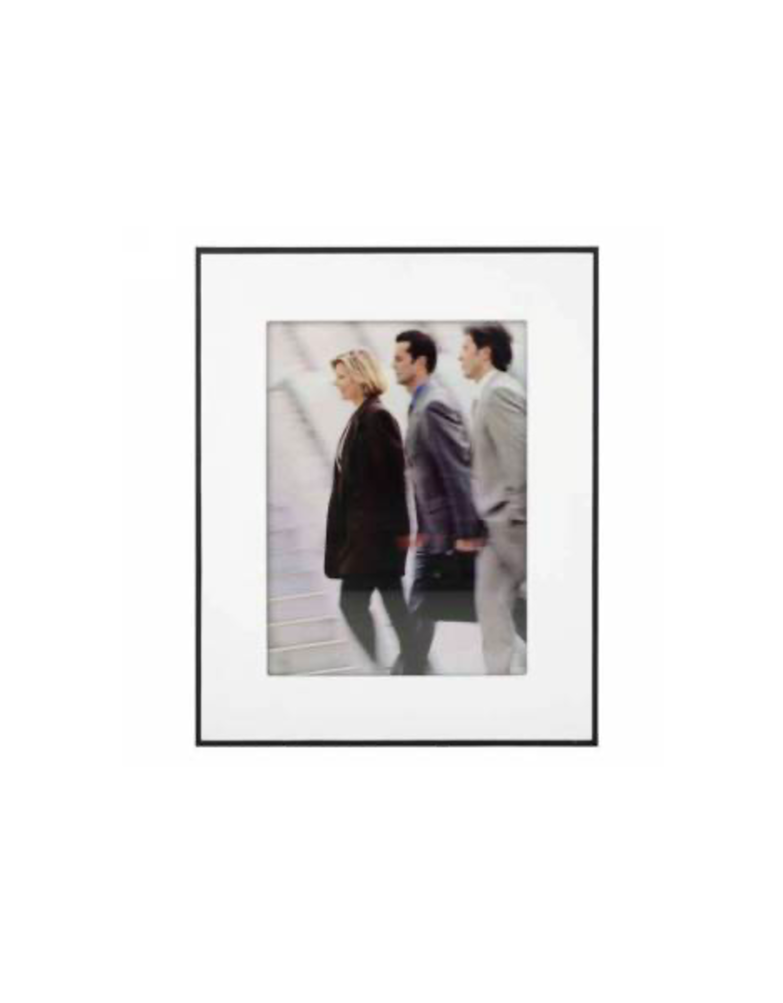 AES - Picture Frame/Black, White Mat, 8 x 10""
