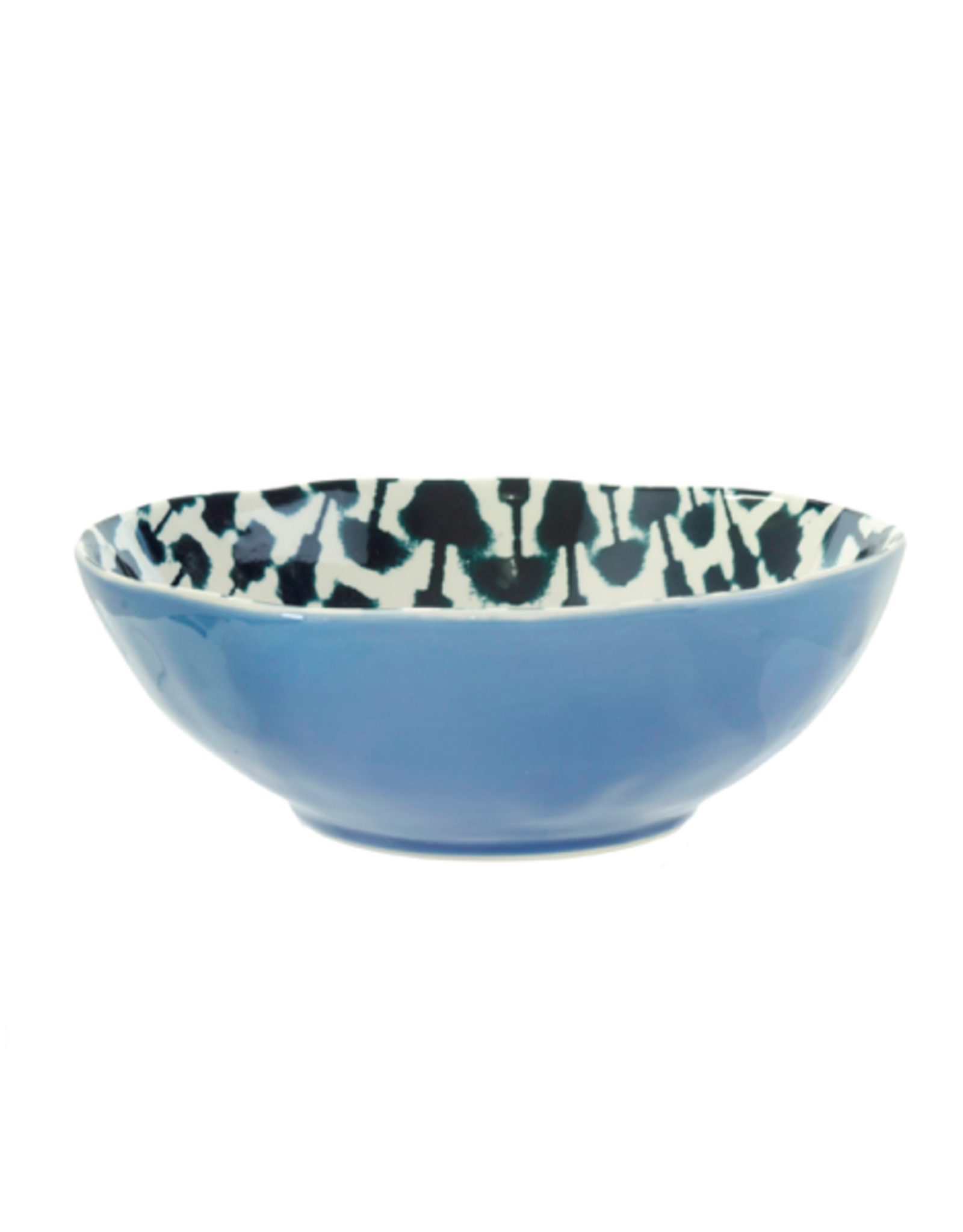 "IBA - Bowl/Shibori, Sky Blue, 8"""