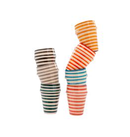 IBA - Tumbler/Teal Stripe