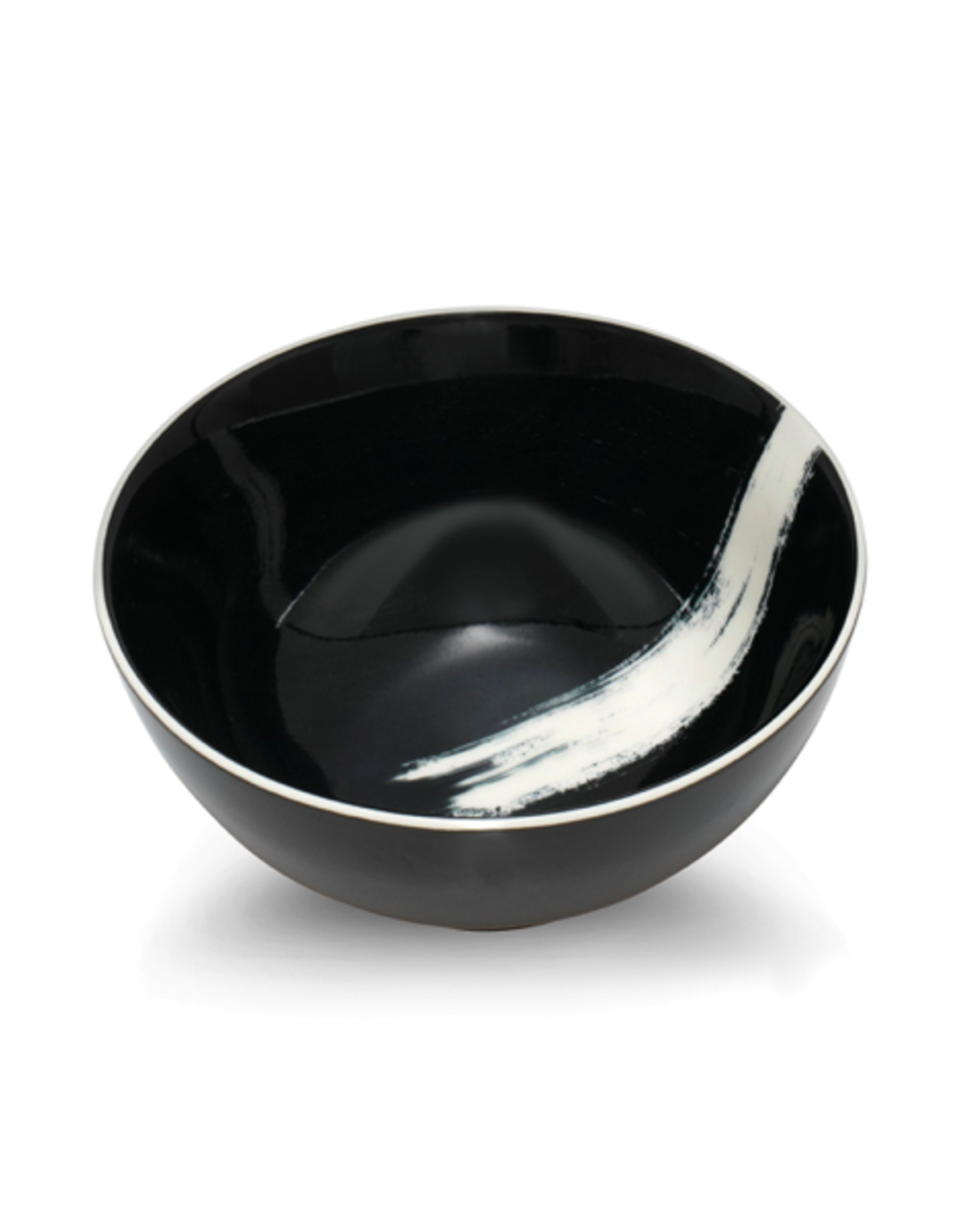 """ICM - Bowl / Black, Ink Stroke, 6"""""""