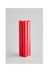 DLE - St. Eval Taper Candle/Cerise, 10''