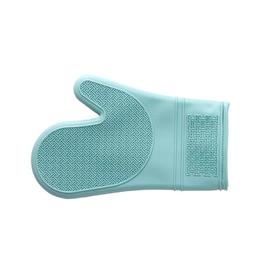 PLE - Silicone Oven Mitt/Aqua