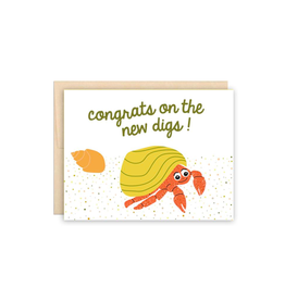 """Beautiful Project - Card / Congrats on the New Digs, 4.25 x 5.5"""""""