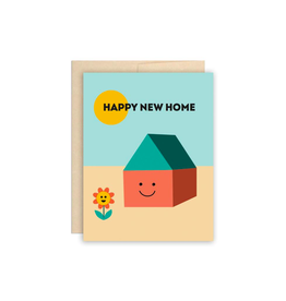 """BCT - Card/Happy New Home, Moving, 4.25 x 5.5"""""""
