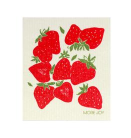 NGE - Swedish Sponge Cloth/Strawberries