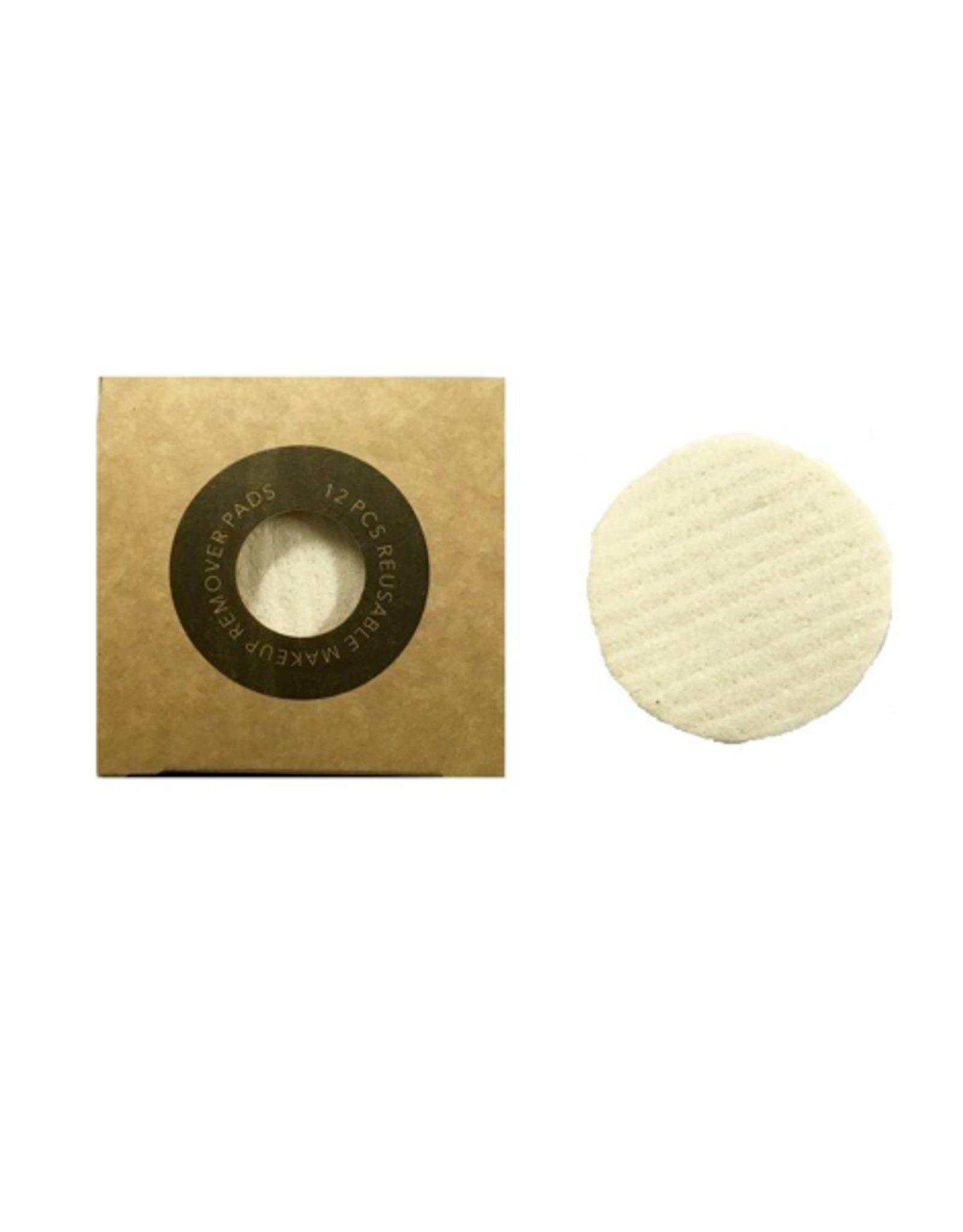 NGE - Reusable Makeup Remover Pad/Set 12
