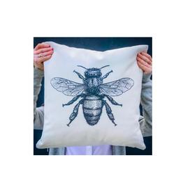 "FRS - Cushion/Bee, 18 x 18"""