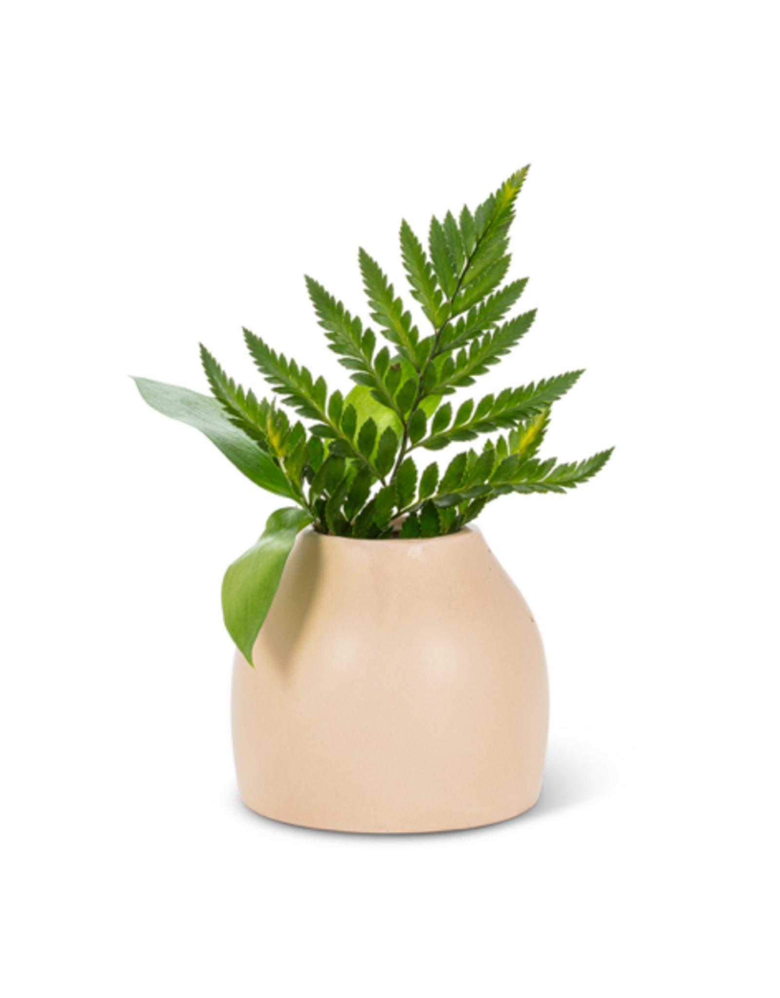 """ATT - Vase/Moab, Matte Sand, 3"""""""