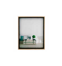 AES - Picture Frame/Black & Natural, 8 x 10""