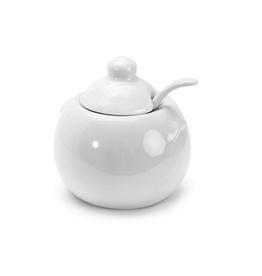 DCO - Sugar Bowl & Spoon/White, 8oz