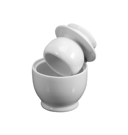 DCO - Butter Keeper/White, Porcelain, 3.75''