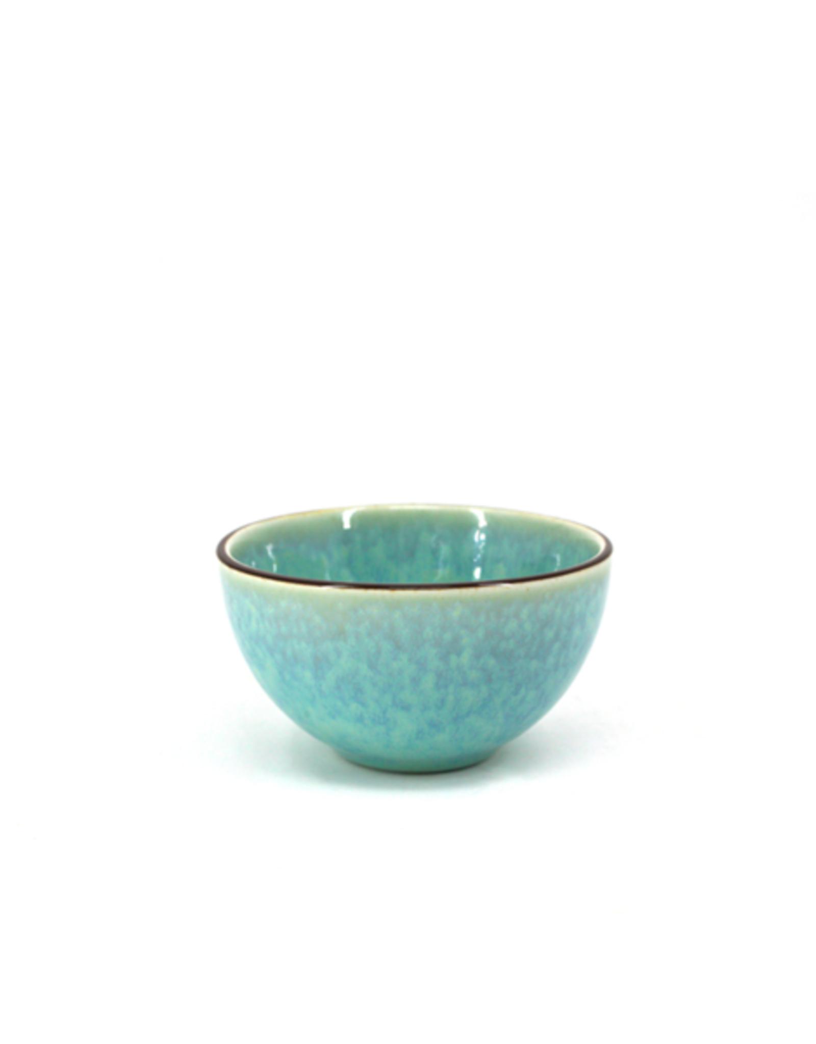 """DCO - Bowl / Reactive Glaze, Green, 3.5"""""""