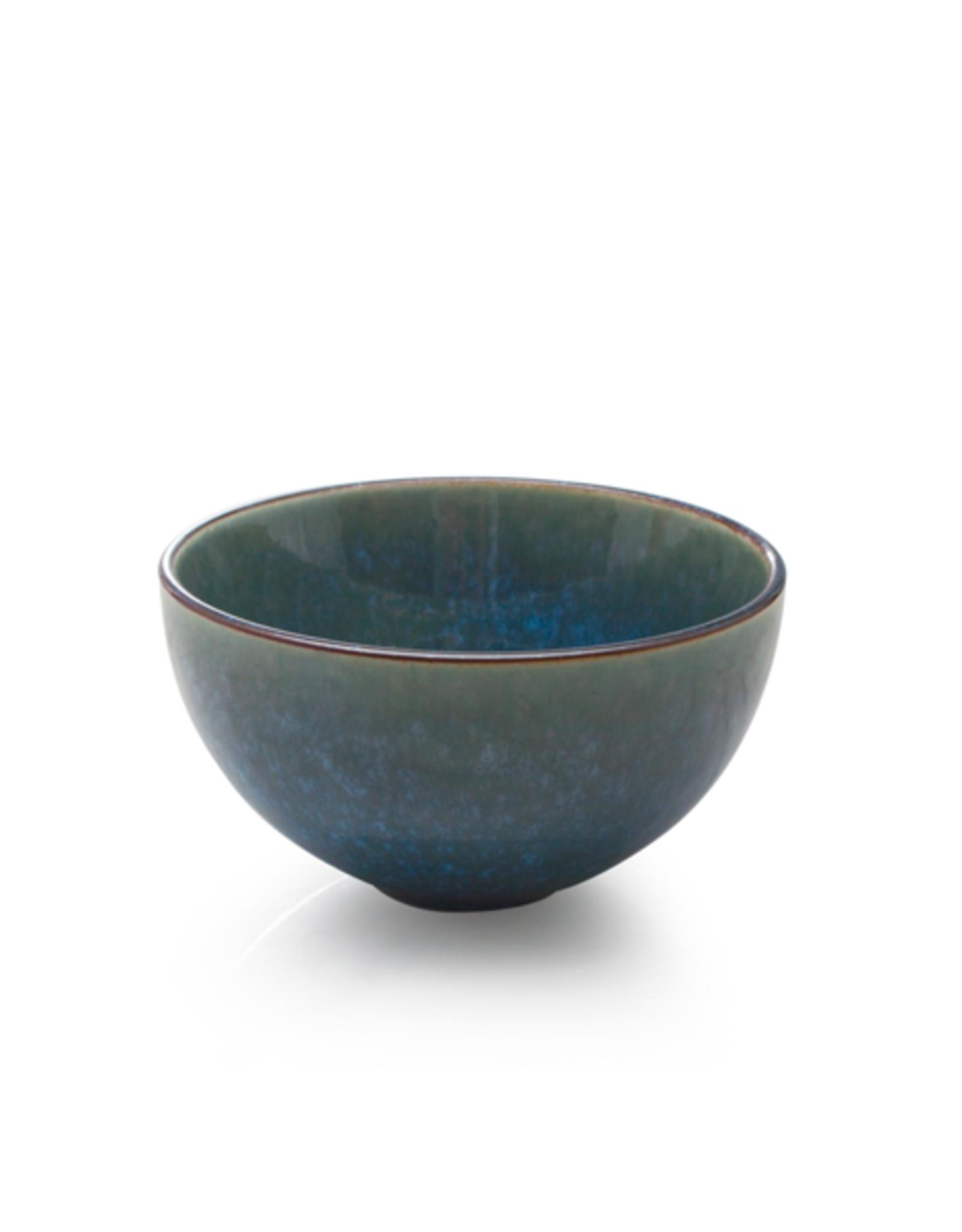 DCO - Bowl / Reactive Glaze, Teal/ 10 oz