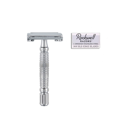 PMA - Rockwell Grooming / R1 Rookie Butterfly Safety Razor, Chrome