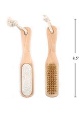CTG - Pedicure Brush & Pumice / Bamboo
