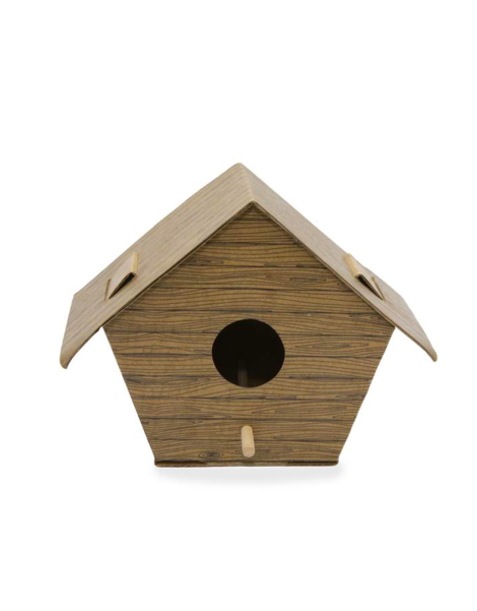 KND - DIY Birdhouse Kit/Log Cabin