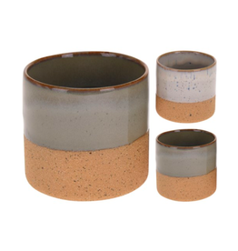 "NTH - Plant Pot/Duo Tone, Moss, 2.5"""