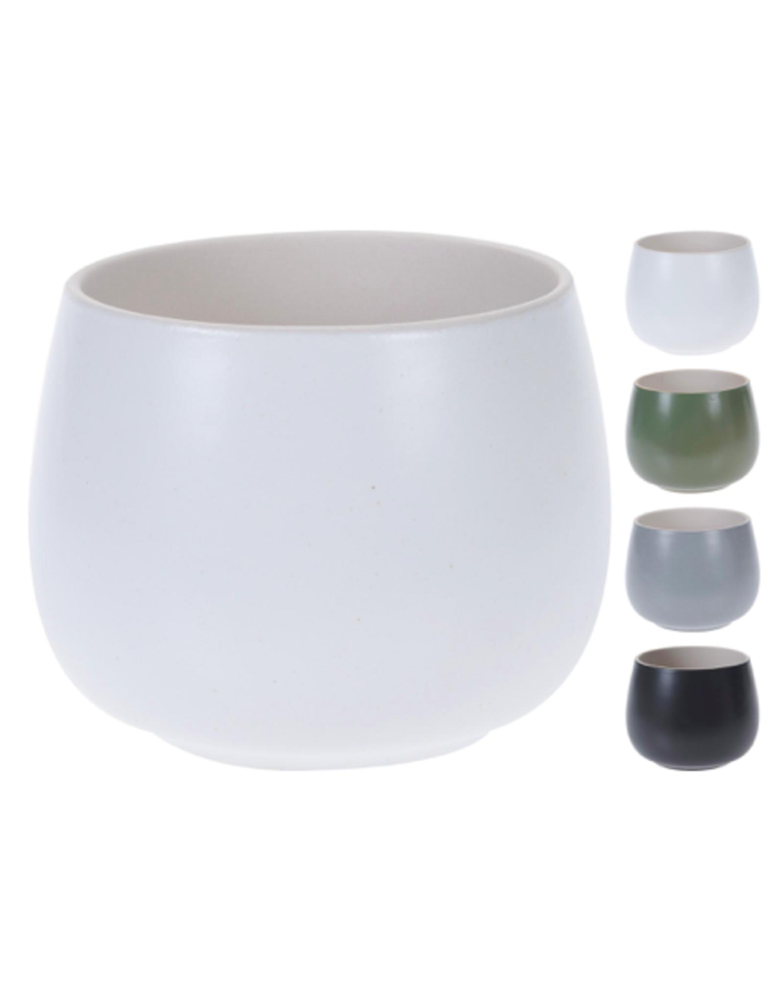 "NTH - Plant Pot / Tranquil, Grey, 3.5"""