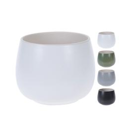 "NTH - Plant Pot/Tranquil, Grey, 3.5"""