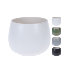 """NTH - Plant Pot / Tranquil, White, 3.5"""""""