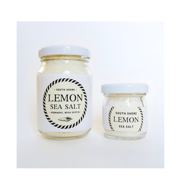 South Shore Sea Salt/Finishing Salt, Lemon, 25g
