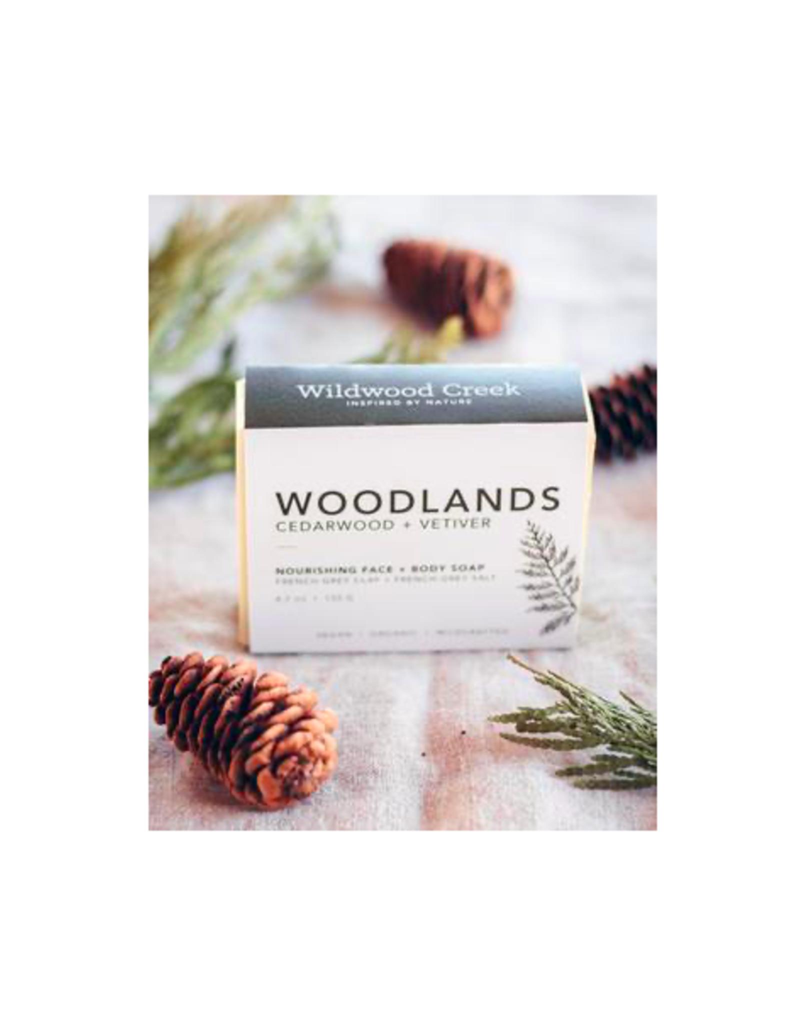 Wildwood Creek - Bar Soap/Woodlands, 4.7oz