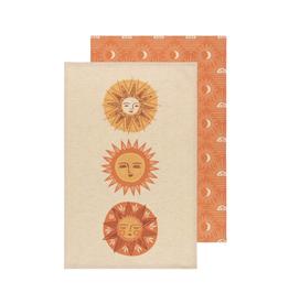 DCA - Tea Towel / Set 2, Sun