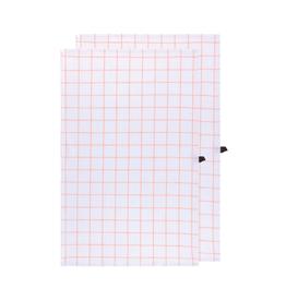 DCA - Tea Towel / Set 2, Woven, Guava