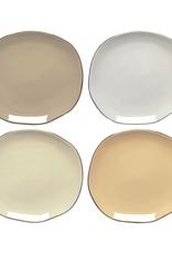 "DCA - Side Plate / Set 4, Pebbles, 6.5"""