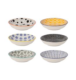 DCA - Pinch Bowl/Set 6, Mixed Patterns