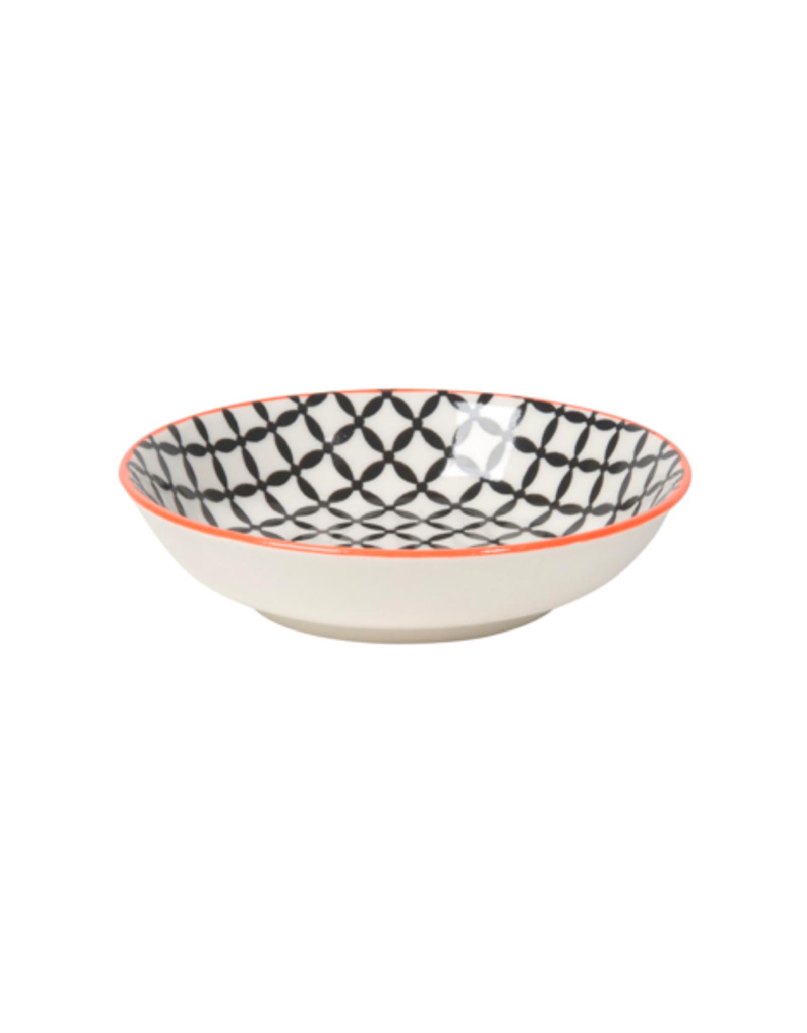 """DCA - Dip Bowl / Black Grid, 3.75"""""""