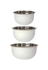 DCA - Mixing Bowl / Set 3, White
